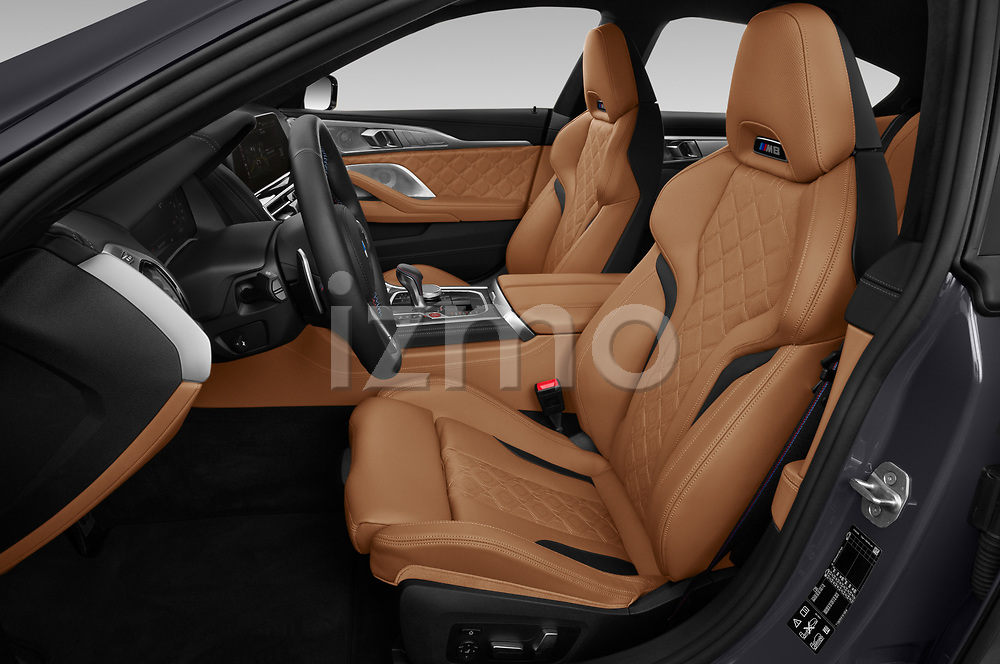 Front seat view of 2020 BMW M8-Gran-Coupe Competition 4 Door Sedan Front Seat  car photos