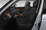 Front seat view of 2020 Land Rover Range-Rover HSE 5 Door SUV Front Seat  car photos
