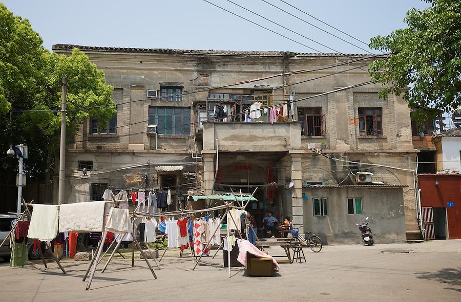The Foochow Club (On A Washing Day!), Fuzhou (Foochow).