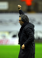 ATTENTION SPORTS PICTURE DESK<br /> Pictured: Paulo Sousa Manager of Swansea City<br /> Re: Coca Cola Championship, Swansea City Football Club v Leicester City at the Liberty Stadium, Swansea, south Wales. Saturday 16 January 2010