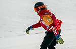 Sandrine Hamel, PyeongChang 2018 - Para Snowboard // Parasnowboard.<br /> Highlights of Team Canada during Para Snowboard competition // Faits saillants d'Équipe Canada lors d'une compétition de parasnowboard. 12/03/2018.