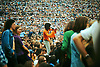 Crowd scene at THE WHO SUMMER OF 74, Charlton Athletic FC featuring The Who, Humble Pie, Lou Reed, Bad Company, Lindisfarne, Maggie Bell, Montrose.<br /> <br /> Stock Photo by Paddy Bergin