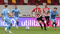 Vitaly Janelt of Brentford and Germany U21 in action  during Brentford vs Coventry City, Sky Bet EFL Championship Football at the Brentford Community Stadium on 17th October 2020