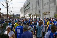BELO HORIZONTE/MG - 08.09.19, CRUZEIRO X GREMIO - Torcida do Cruzeiro durante partida entre Cruzeiro e Gremio, valida pela 18a rodada do Campeonato Brasileiro 2019, no Estadio Independencia, Belo Horizonte, MG, neste domingo (08).(Foto Giazi Cavalcante/Codigo19)