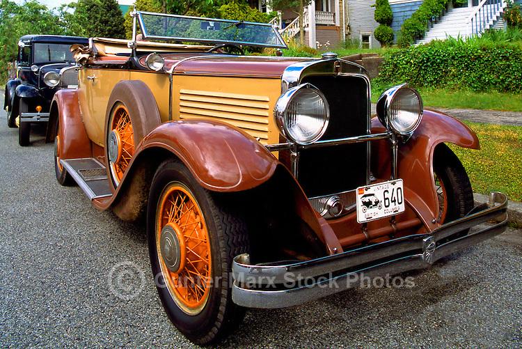 An Antique Nash Cabriolet Car