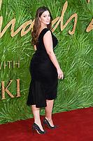 Ashley Graham<br /> arriving for The Fashion Awards 2017 at the Royal Albert Hall, London<br /> <br /> <br /> ©Ash Knotek  D3356  04/12/2017