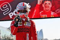 5th June 2021;  F1 Grand Prix of Azerbaijan. Pole winner 16 Charles Leclerc MON, Scuderia Ferrari Mission Winnow, F1 Grand Prix of Azerbaijan at Baku City Circuit