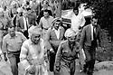 Iraq 1970 .July 18th, in Salaheddin, first rank on the right, Masoud Barzani, next to him, Assad Fatah, behind, Mohsen Dizai.Irak 1970.Le 18 juillet a Salaheddin, au premier rang a droite, Masoud Barzani, a cote de lui, Assad Fatah , derriere, Mohsen Dizai