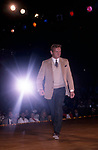 Tab Hunter during a Hollywood Fashion Show on September 1, 1986 in Los Angeles, California.