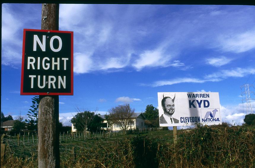 No Right Turn, Manurewa 1988