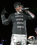 Will.i.am of The Black Eyed Peas opened for U2's - 360° Tour ,the show was being broadcast live on youtube from The Rose Bowl in Pasadena, California on October 25,2009                                                                   Copyright 2009 DVS / RockinExposures