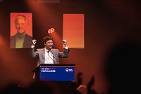 Gabriel Nadeau-Dubois lors de La soiree electorale de Quebec Solidaire, le 1er octobre 2018<br /> <br /> PHOTO : Agence Quebec Presse<br /> - Philippe Manh Nguyen