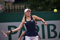 Paris, France, 22 June, 2016, Tennis, Roland Garros, Johanna Larsson (SWE)<br /> Photo: Henk Koster/tennisimages.com
