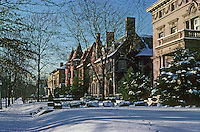 St. Louis: West End, North side of Kingsbury Place. Photo '78.