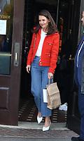 November 04, 2019 Katie Holmes attend Through Her Lens: The Tribeca Chanel Women's Filmmaker Program Luncheon at Locanda Verde  in New York.November 04, 2019. Credit:RW/MediaPunch