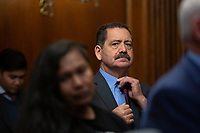 "United States Representative Jesús ""Chuy"" García (Democrat of Illinois), joined by other Democratic lawmakers, attends a press conference on the Deferred Action for Childhood Arrivals program on Capitol Hill in Washington D.C., U.S. on Tuesday, November 12, 2019.  The Supreme Court is currently hearing a case that will determine the legality and future of the DACA program.  <br /> <br /> Credit: Stefani Reynolds / CNP /MediaPunch"
