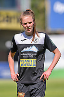 Loes Van Mullem (33) of Eendracht Aalst pictured during a female soccer game between Eendracht Aalst and Racing Genk on the 10 th and last matchday of play off 2 of the 2020 - 2021 season of Belgian Scooore Womens Super League , Saturday 29 st of May 2021  in Aalst , Belgium . PHOTO SPORTPIX.BE | SPP | STIJN AUDOOREN