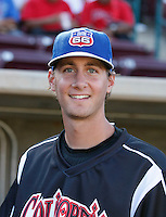 Tim Sexton ---  At the annual California League-Carolina League all-star game at the Diamond in Lake Elsinore, CA - 06/23/2009. The game was won by the California League, 2-1, on a walk-off homerun by Lancaster's Jon Gaston..Photo by:  Bill Mitchell/Four Seam Images