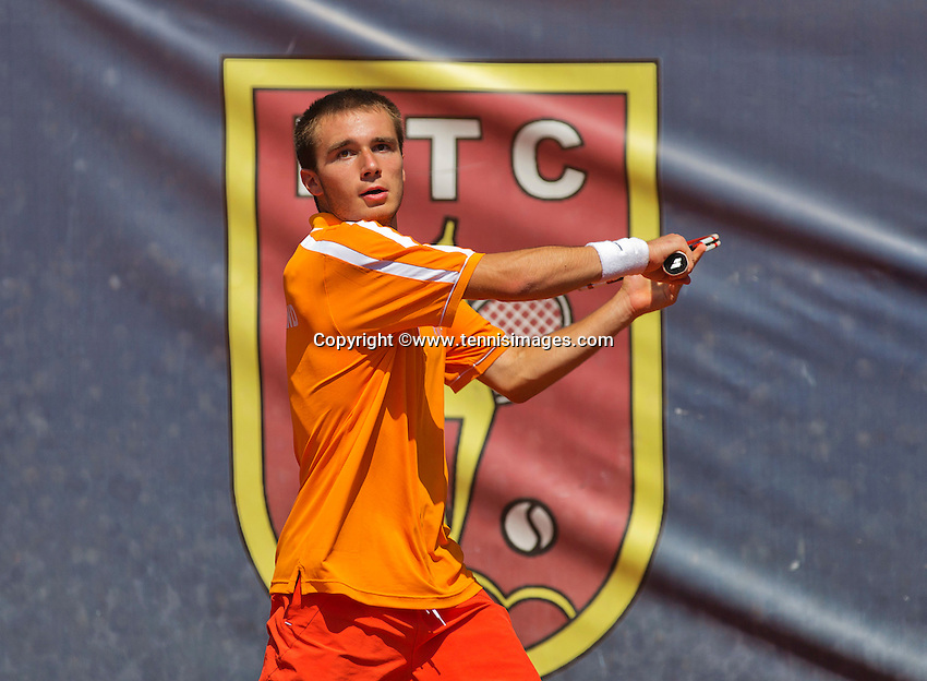 Austria, Kitzbühel, Juli 18, 2015, Tennis,  Junior Davis Cup,  Guy den Heijer (NED) <br /> Photo: Tennisimages/Henk Koster