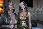 SARA IANNONE CON ELEONORA DRACH<br /> CENA DI GALA  PER APERTURA SEDE A ROMA DELLA BANCA BARCLAYS<br /> PALAZZO FERRAJOLI ROMA 2010