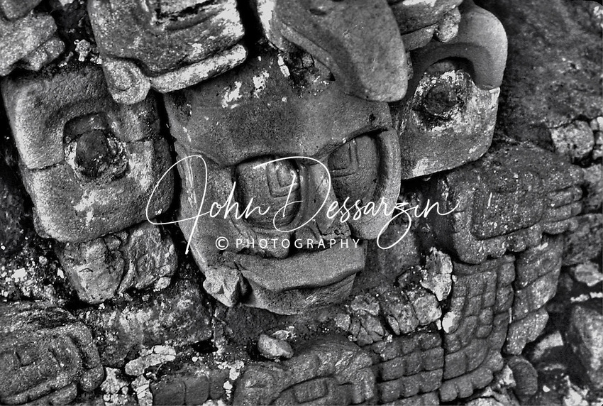 Unknown Mayan God's Head C. 745-805 AD. Quirigua Izaba Guatemala