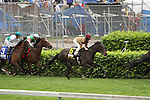 Hot Cha Cha with James Graham (maroon cap) runs down the backstretch in The Churchill Distaff Turf Mile (grII) at Churchill Downs. 05.01.2010