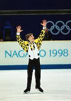 Ilia Kulik Russia 1998 Olympics Nagano. Photo copyright Scott Grant