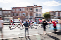 grupetto rolling in<br /> <br /> Stage 10: Saint-Flour to Albi(217km)<br /> 106th Tour de France 2019 (2.UWT)<br /> <br /> ©kramon