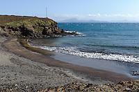 Strand Curraletes bei Porto Novo, Santo Antao, Kapverden, Afrika