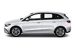 Car Driver side profile view of a 2019 Mercedes Benz B-Class - 5 Door Mini Mpv Side View