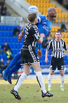 St Johnstone v St Mirren....22.01.11  .Michael Duberry and Marc McAusland.Picture by Graeme Hart..Copyright Perthshire Picture Agency.Tel: 01738 623350  Mobile: 07990 594431