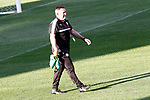 Leicester City FC's coach Craig Shakespeare during training session. April 11, 2017.(ALTERPHOTOS/Acero)