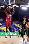 LLIGA NACIONAL CATALANA ACB 2020 AON.<br /> Baixi Manresa vs Club Joventut Badalona: 79-93.<br /> Sima Yankuba vs Ante Tomic.