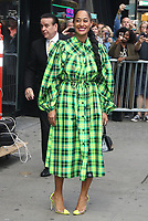 NEW YORK, NY- OCTOBER 14: Tracee Ellis-Ross seen at an appearance on Good Morning America and Strahan, Sara & Keke promoting Black-ish at ABC Studios in New York City on October 14, 2019. Credit: RW/MediaPunch