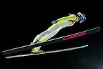 Spela Rogelj of Slovenia compete during the Ski Jumping Ladies' Normal Hill Individual as part of the 2014 Sochi Olympic Winter Games at RusSki Gorki Jumping Center on February 11, 2014 in Sochi, Russia. Photo by Victor Fraile / Power Sport Images