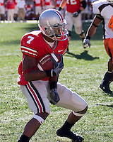 07 October 2006: Ohio State wide receiver Ted Ginn Junior..The Ohio State Buckeyes defeated the Bowling Green Falcons 35-7 on October 7, 2006 at Ohio Stadium, Columbus, Ohio.