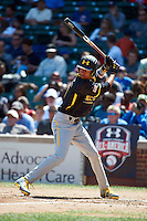 Infielder J.P. Crawford #3 of Lakewood High School in Lakewood, California participates in the Under Armour All-American Game powered by Baseball Factory at Wrigley Field on August 17, 2012 in Chicago, Illinois.  (Mike Janes/Four Seam Images)