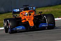 #55 Carlos Sainz Jr McLaren Renault. Formula 1 World championship 2020, Winter testing days #1 2020 Barcelona, 21-02-2020<br /> Photo Federico Basile / Insidefoto