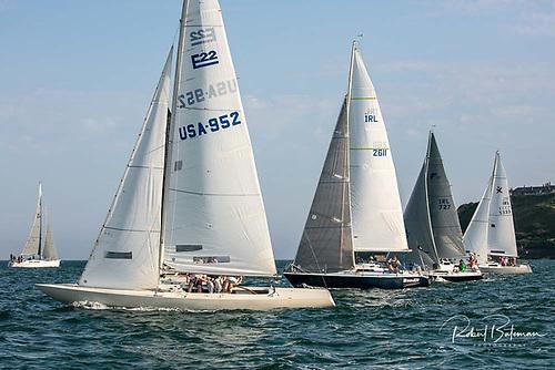 Racing in Royal Cork's July keelboat Cruiser League in Cork Harbour