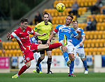 St Johnstone v Stirling Albion…30.07.16  McDiarmid Park. Betfred Cup<br />Chris Millar and Sean Dickson<br />Picture by Graeme Hart.<br />Copyright Perthshire Picture Agency<br />Tel: 01738 623350  Mobile: 07990 594431