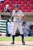 May 14, 2009: Antonio Jimenez (15) of the Burlington Bees at Elfstrom Stadium in Geneva, IL.  Photo by: Chris Proctor/Four Seam Images