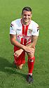 James Dunne of Stevenage<br />   Stevenage FC Team Photoshoot - Lamex Stadium, Stevenage - 16th July, 2013<br />  © Kevin Coleman 2013