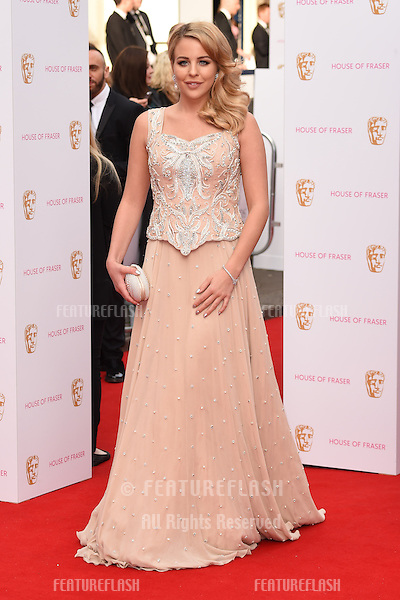 Lydia Bright<br /> arrives for the 2015 BAFTA TV Awards at the Theatre Royal, Drury Lane, London. 10/05/2015 Picture by: Steve Vas / Featureflash