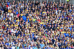 Fans during the Senior quarter final  at Pairc Ui Chaoimh. Photograph by John Kelly.