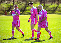 Referees at the Under-19 provincial rugby union tournament at Owen Delaney Park, Taupo, New Zealand on Sunday, 27 September 2015. Photo: Dave Lintott / lintottphoto.co.nz