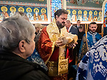 Hierarchal Divine Liturgy with Bishop Maxim of the Western American Diocese and Fr. Steve Tumbas, Fr. Damascene, Fr. Marko Bojovic. Continuing the celebrating the Slava of St. Sebastian of Jackson, first American-born Orthodox priest and founder of St. Sava Serbian Church, and patron saint of St. Sebastian Press along with the Entrance of the Tehotokos into the Temple, patron saint of the Western American Diocese Circle of Serbian Sisters at Jackson, California.
