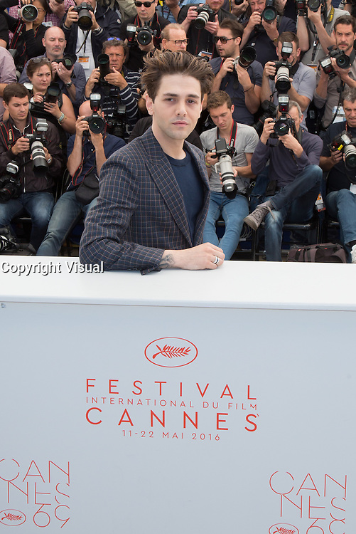 XAVIER DOLAN - PHOTOCALL DU FILM 'JUSTE LA FIN DU MONDE' - 69EME FESTIVAL DU FILM DE CANNES