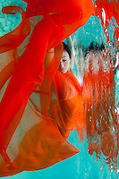"""Kanako Kitao<br /> World Champion synchronized swimmer<br /> Performer in the Cirque du Soleil show """"O"""" in Las Vegas"""