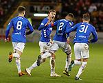 06.02.2019: Aberdeen v Rangers: Joe Worrall and James Tavernier