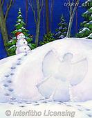 Randy, CHRISTMAS SANTA, SNOWMAN, WEIHNACHTSMÄNNER, SCHNEEMÄNNER, PAPÁ NOEL, MUÑECOS DE NIEVE, paintings+++++,USRW411,#x#